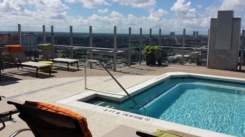 Skyhouse Apt Houston Tx Multi-Family SUNDEK Houston