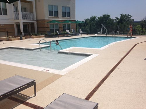 Thorton Apt Pool Deck New Caney Tx) Multi-Family SUNDEK Houston
