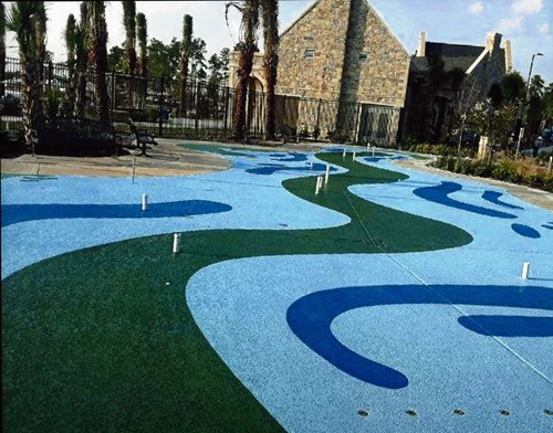 Classic Special Effects Houston Tx Splash Pads & Waterparks SUNDEK Houston