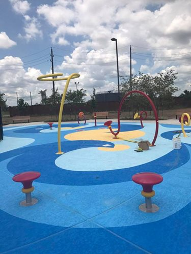 Classic Texture 4 Custom Colors, Splashpad _ Entry Spring Tx Splash Pads & Waterparks SUNDEK Houston