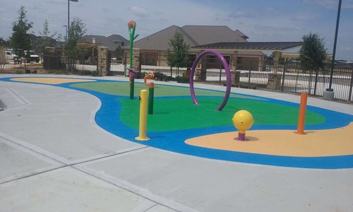 Classic-Texture-Splash-Pad-Porter Tx Splash Pads & Waterparks SUNDEK Houston