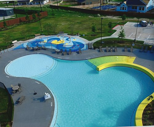 Commercial In Houston, Tx Splash Pads & Waterparks SUNDEK Houston