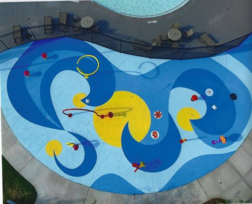 Commercial Pearland Tx Splash Pads & Waterparks SUNDEK Houston