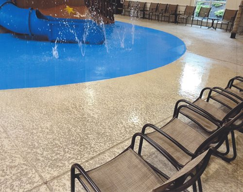 Indoor Commercial Classic Texture Houston, Tx Splash Pads & Waterparks SUNDEK Houston