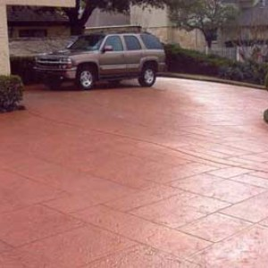 Residential Driveweway with Stamped Overlay4