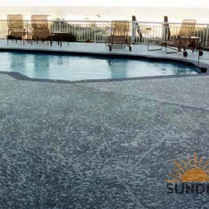 Commercial Pool Deck Resurfacing Classic Texture
