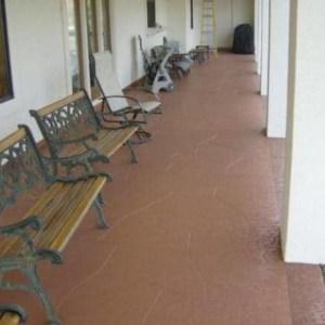 Commercial Patio Resurfacing