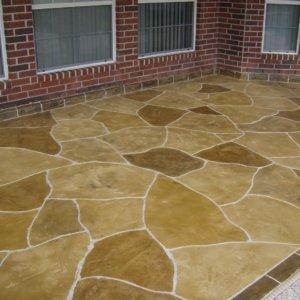Residential Patio Floor Restoration